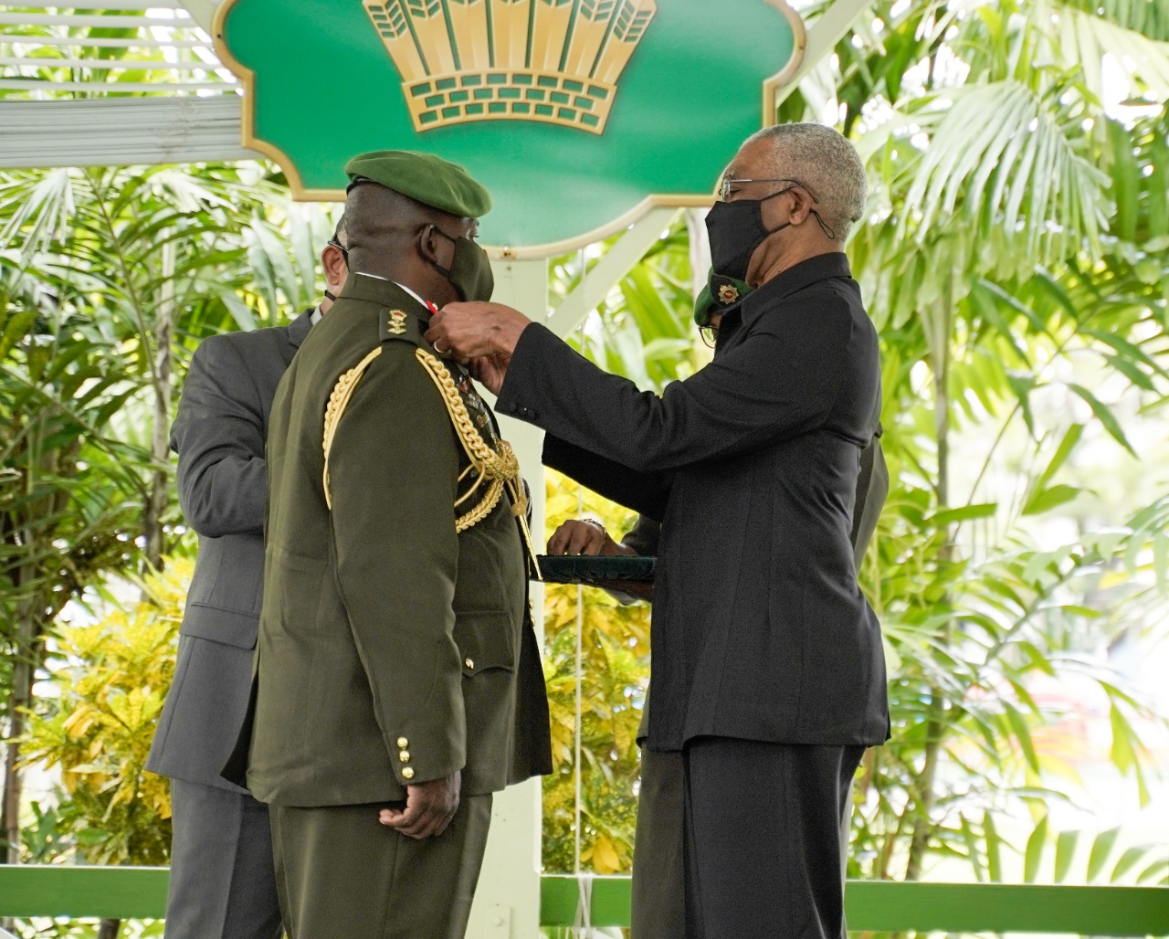 Godfrey Bess promoted to Brigadier  …as he takes the reins as GDF  Chief of Staff
