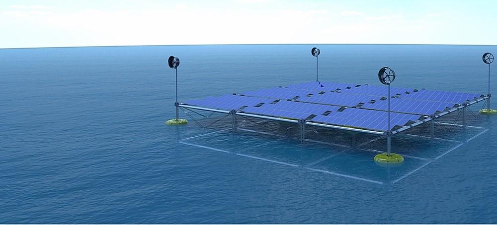 World's First Floating Ocean Hybrid Platform Harvests Wind, Solar And Wave Energy