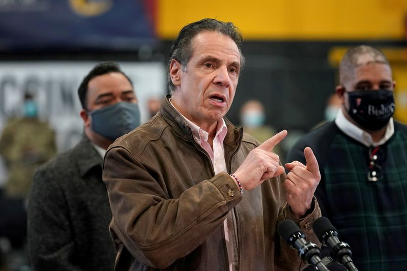 Top New York Democrats urge Cuomo to resign over sexual harassment allegations