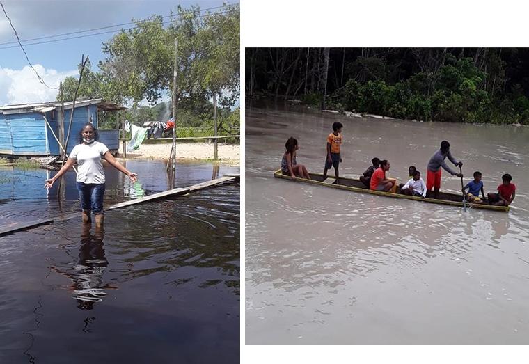 Disaster strikes twice inThreeFriends, Maria Elizabeth