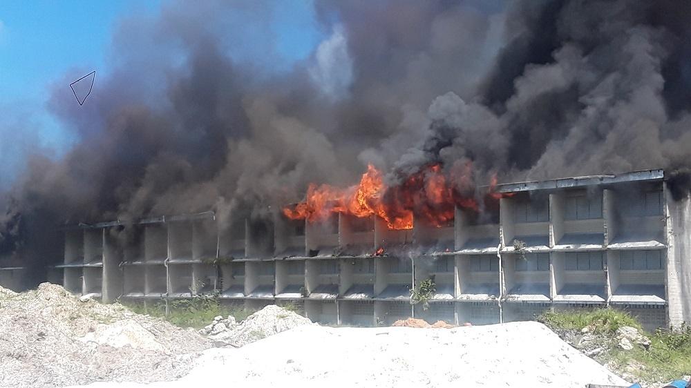 Fire guts 'Multi'