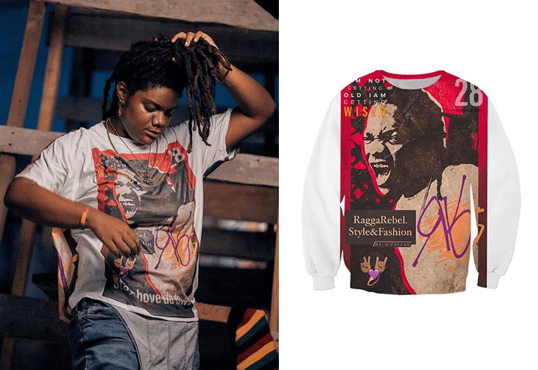 Young Guyanese creates own fashion brand 'Ragga Rebel Style and Fashion'