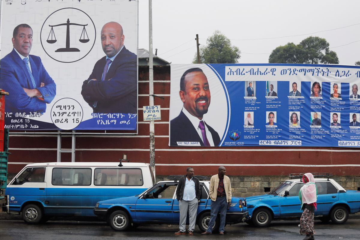 Ethiopians vote in what government bills as first free election