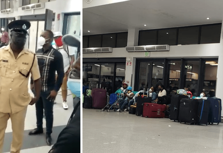 Passengers create ruckus at CJIA over delayed American Airlines flight
