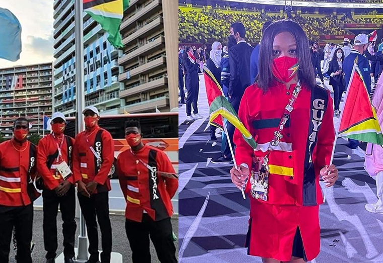 Guyana Olympics team 'red suit' draws ire of citizens