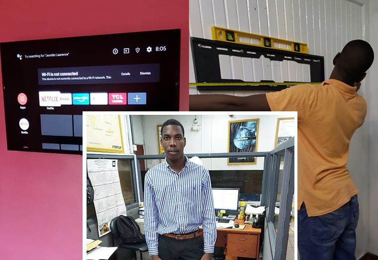 Agricola youth beats the odds to set up TV, cable mounting business
