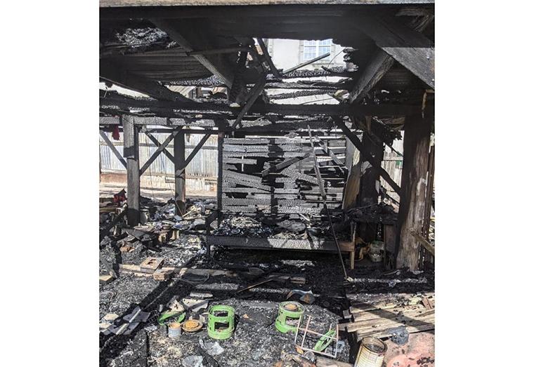 Elderly woman burnt to death in Linden
