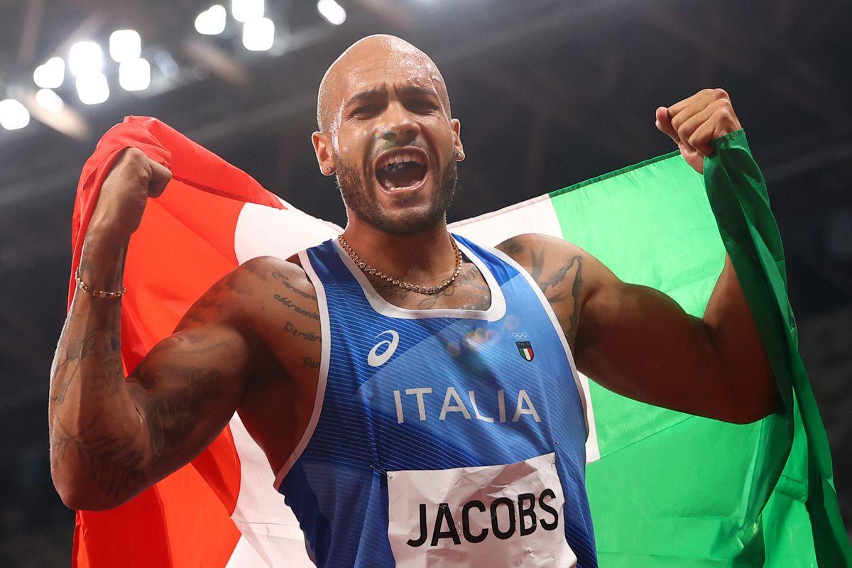 Athletics-Italy's Jacobs takes stunning 100 metres gold