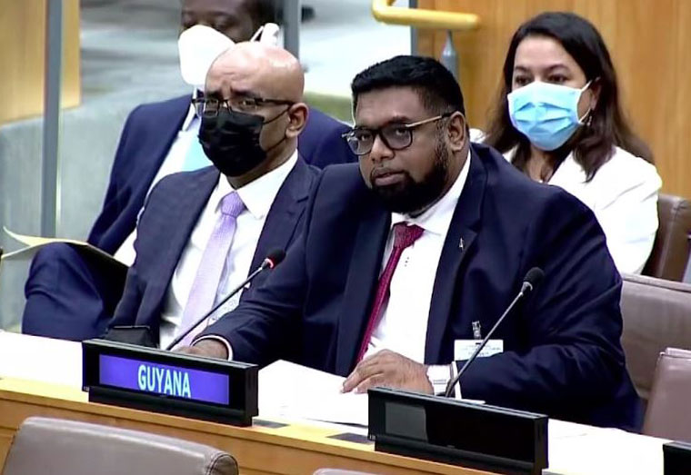 President tells UN Assembly racism still a tool used in Guyana's politics