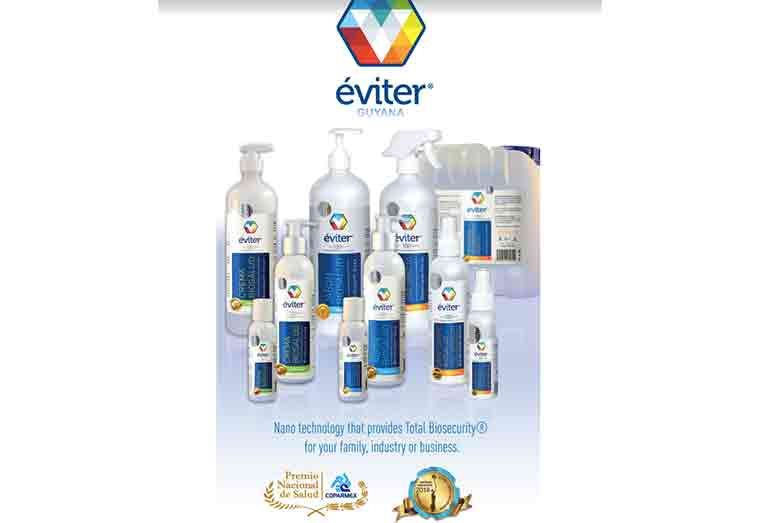 Three-day lasting sanitizer being introduced to Guyana to boost COVID fight