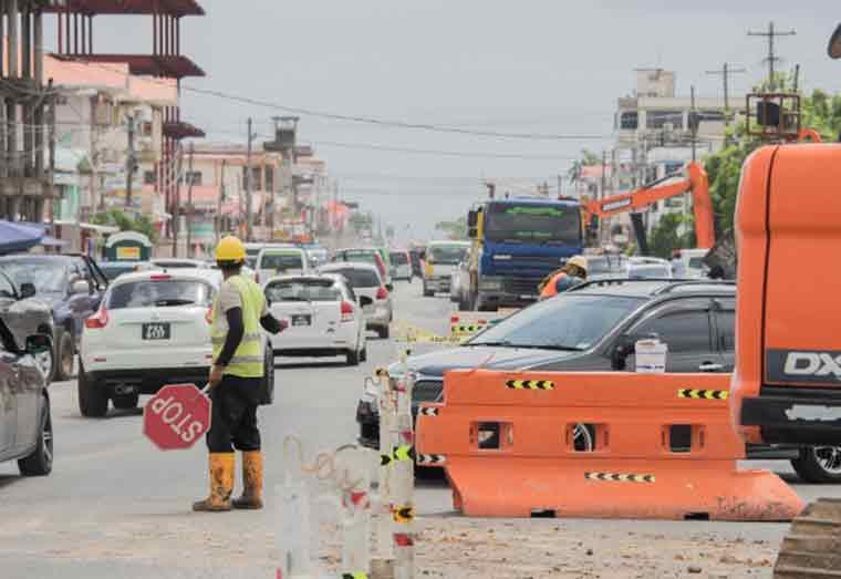 Gov't pushing for Mandela/Sherriff Road construction to meet October 31 deadline – Minister Edghill
