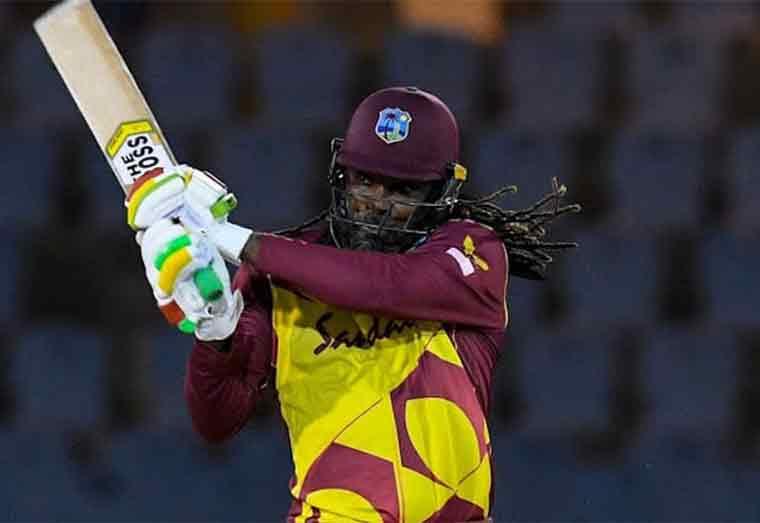 Gayle scores 20 as West Indies lose warm up match against Pakistan