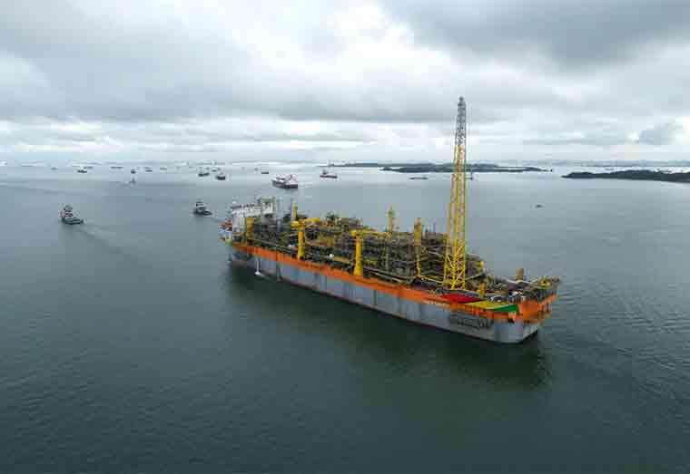 Liza Unity arrives in Guyana waters